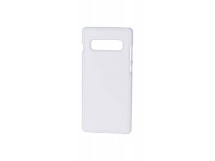 Samsung S10 Plus Cover (Plastic, White)