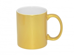 11oz Golden Sparkling Mug