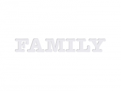 Sublimation HB Letters - FAMILY