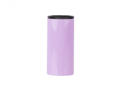12oz/350ml Stainless Steel Skinny Can Cooler(Purple)