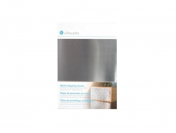 Metal stippling sheets,Silver