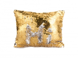 Sequin Makeup Bag / Pencil Case (Gold/Silver, 16.5*20.5cm)