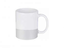 Caneca Base Colorida 11oz/330ml (Prateado)