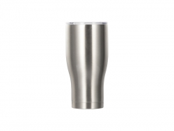 32OZ/950ml Stainless Steel Tumbler (Silver)