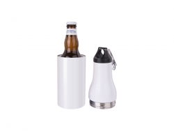 12oz/360ml Stainless Steel Cooler w/ Bottle Opener