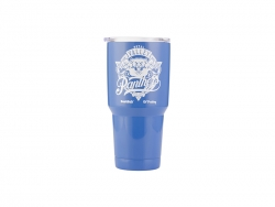 30oz/900ml UV Stainless Steel Tumbler (Blue)