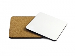 Sublimation Square Coaster with Cork