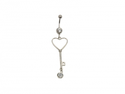 Belly Button Ring(Heart)