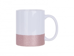 Caneca Base Colorida 11oz/330ml (Rosa)
