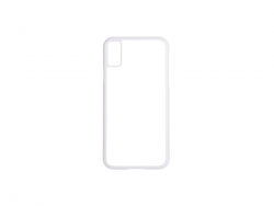 iPhone X Cover (Plastic, White)