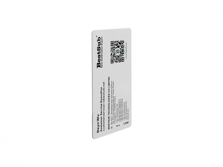 UV Business Name Card(Plastic,White)