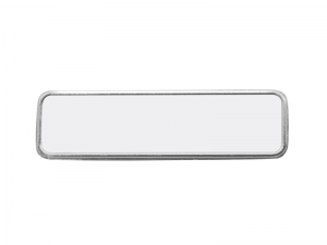 Rectangular Sublimation Name Badge