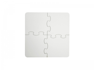 4 Pieces Sublimation Coaster Puzzle