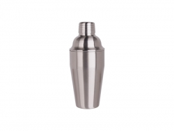 550ml Stainless Steel Cocktail Shaker (Silver)