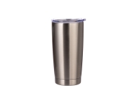 20oz Stainless Steel Tumbler (Silver)