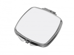 Square Shaped Compact Mirror(6.6*7.35cm)