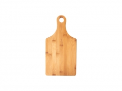 Wine Bottle Shaped Bamboo Cutting Board  MOQ:1000pcs