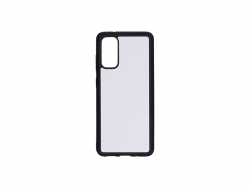 Samsung S20 Cover (Rubber, Black)