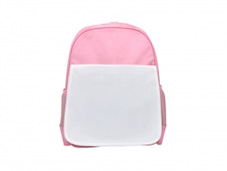Sublimation Pink Kids School Bag