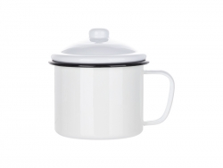 33oz/1000ml Enamel Mug (Black)