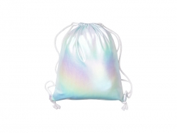 Gradient Drawstring Backpack (Light Blue,33*40cm)