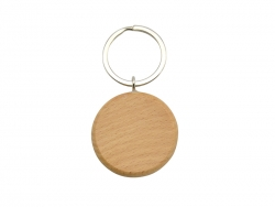 UV Printing Wooden Key Chain(Round)