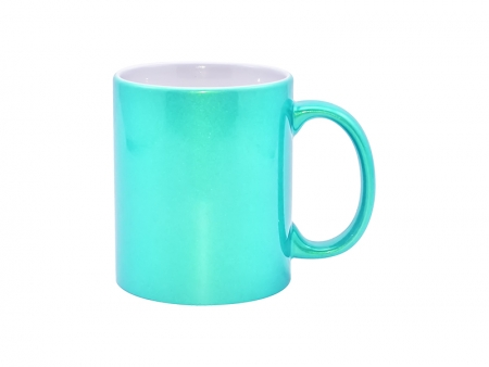 11oz Sparkling Mug(Light Green)