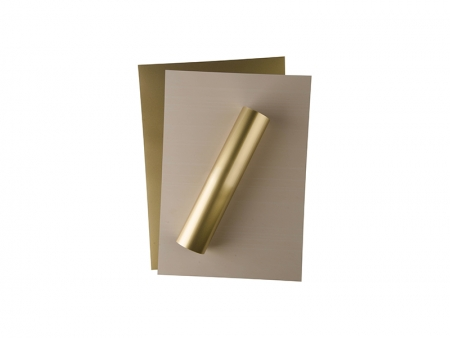 Forever Flex-Soft No-Cut Foil A4(Gold Metallic)