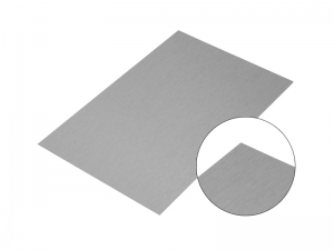 Silver Aluminum Brush Board