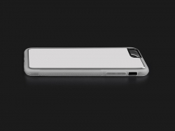 iPhone 7/8 Cover (Rubber, Clear)
